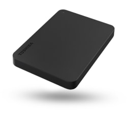 "Toshiba Canvio Basics 1 TB Portable Hard Drive - 2.5"" External - Black"