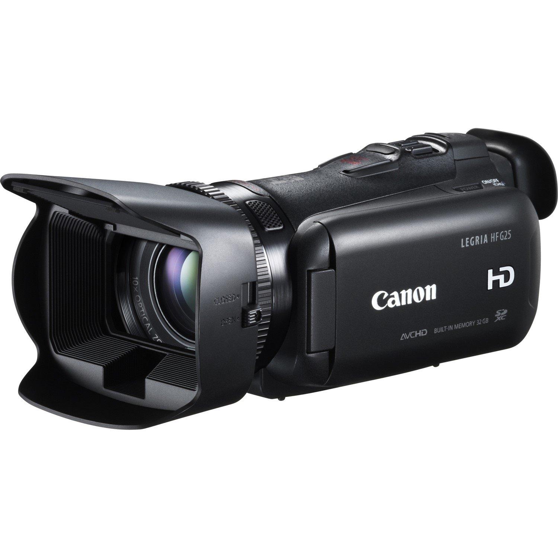 "Canon Legria HF G25 Digital Camcorder - 8.9 cm (3.5"") - Touchscreen LCD - HD CMOS Pro - Full HD - Black"