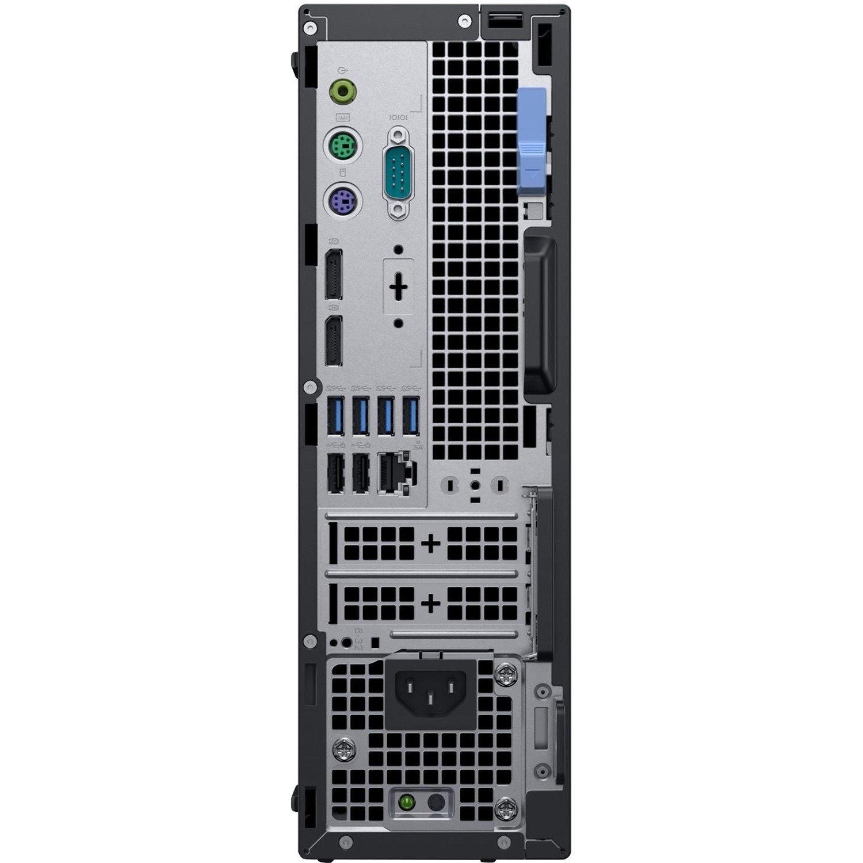 Dell OptiPlex 7000 7060 Desktop Computer - Intel Core i5 (8th Gen) i5-8500 - 4 GB DDR4 SDRAM - 1 TB HDD - Windows 10 Pro 64-bit (English) - Small Form Factor
