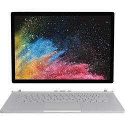 "Microsoft Surface Book 2 38.1 cm (15"") Touchscreen 2 in 1 Notebook - 3240 x 2160 - Core i7 i7-8650U - 16 GB RAM - 256 GB SSD - Silver"