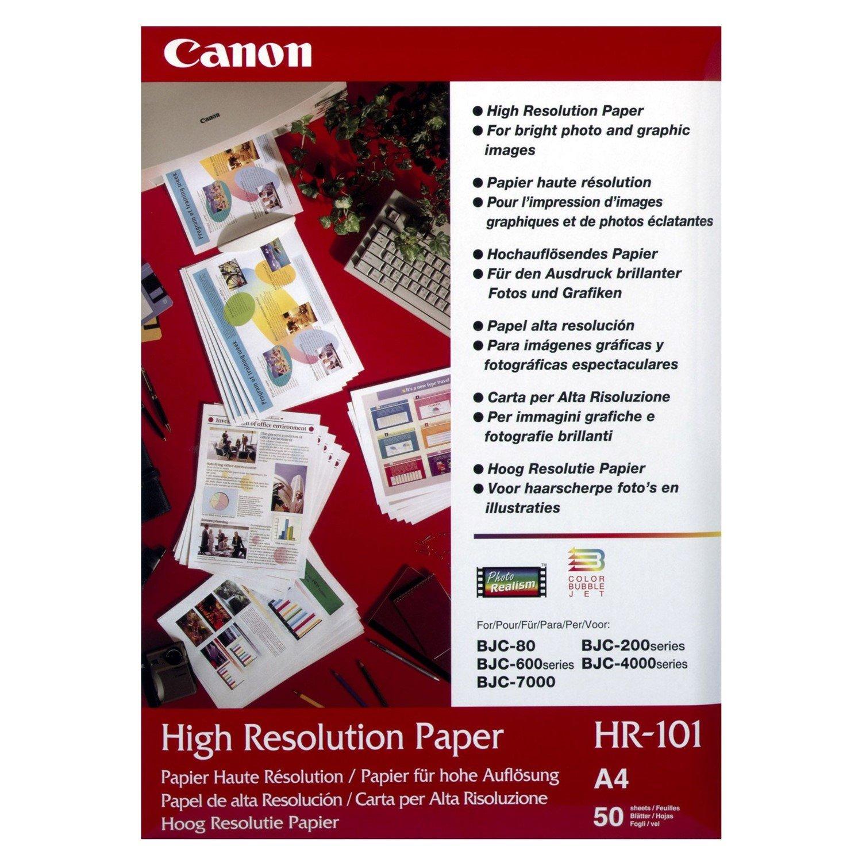Canon HR-101N Inkjet Print High Resolution Paper