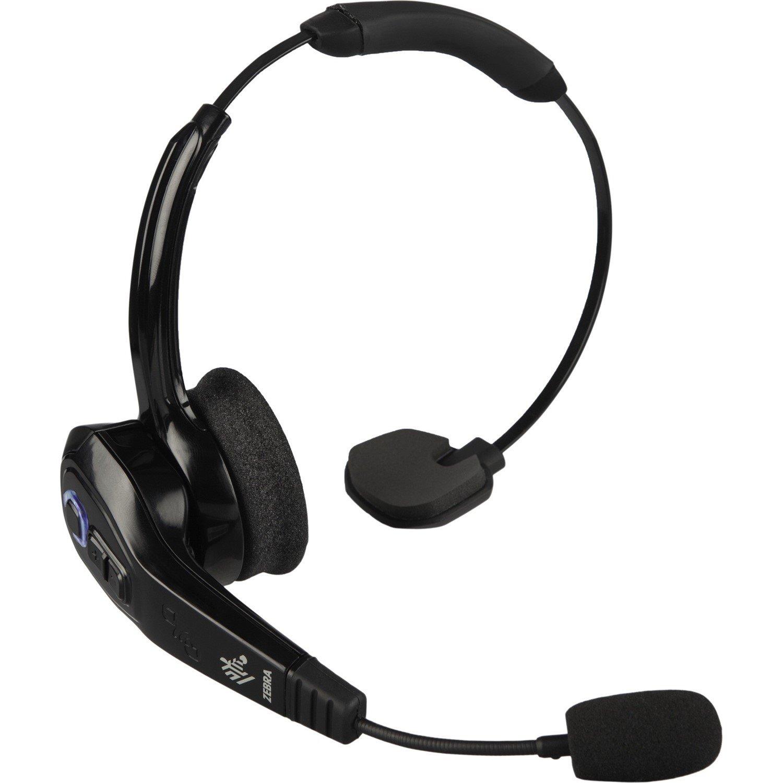 Zebra HS3100 Wireless Bluetooth Mono Headset - Over-the-head - Supra-aural