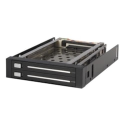 StarTech.com HSB220SAT25B Drive Enclosure Internal - Black
