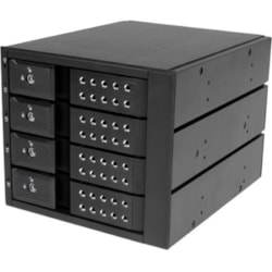 "StarTech.com Drive Enclosure for 5.25"" - 6Gb/s SAS, Serial ATA/600 Host Interface Internal"