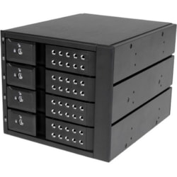 "StarTech.com Drive Enclosure for 5.25"" 6Gb/s SAS, Serial ATA/600 - 6Gb/s SAS, Serial ATA/600 Host Interface Internal"
