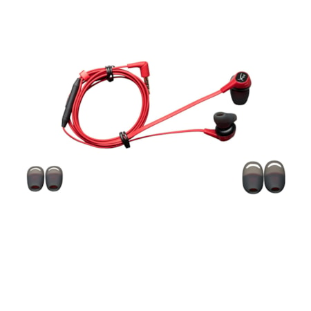 HyperX Cloud Wired Earbud Stereo Earset - Red, Black