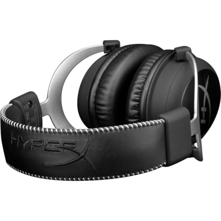 HyperX Cloud Wired Over-the-head Stereo Headset - Silver, Black