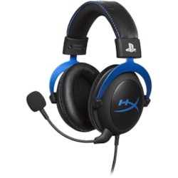 HyperX Cloud Wired 53 mm Stereo Headset - Over-the-head - Circumaural - Blue