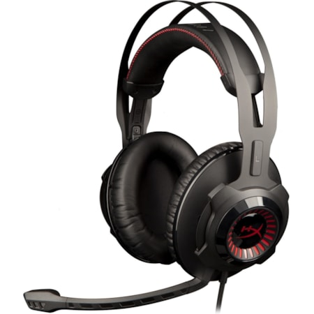 Kingston HyperX Cloud Revolver Wired Over-the-head Stereo Headset - Gun Metal