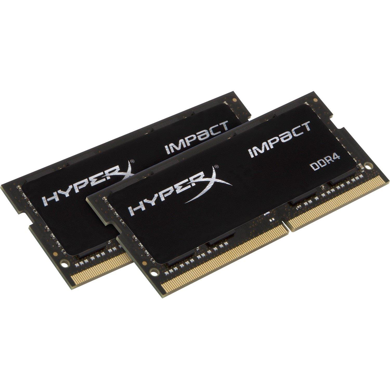 Kingston HyperX Impact RAM Module - 32 GB (2 x 16 GB) - DDR4 SDRAM