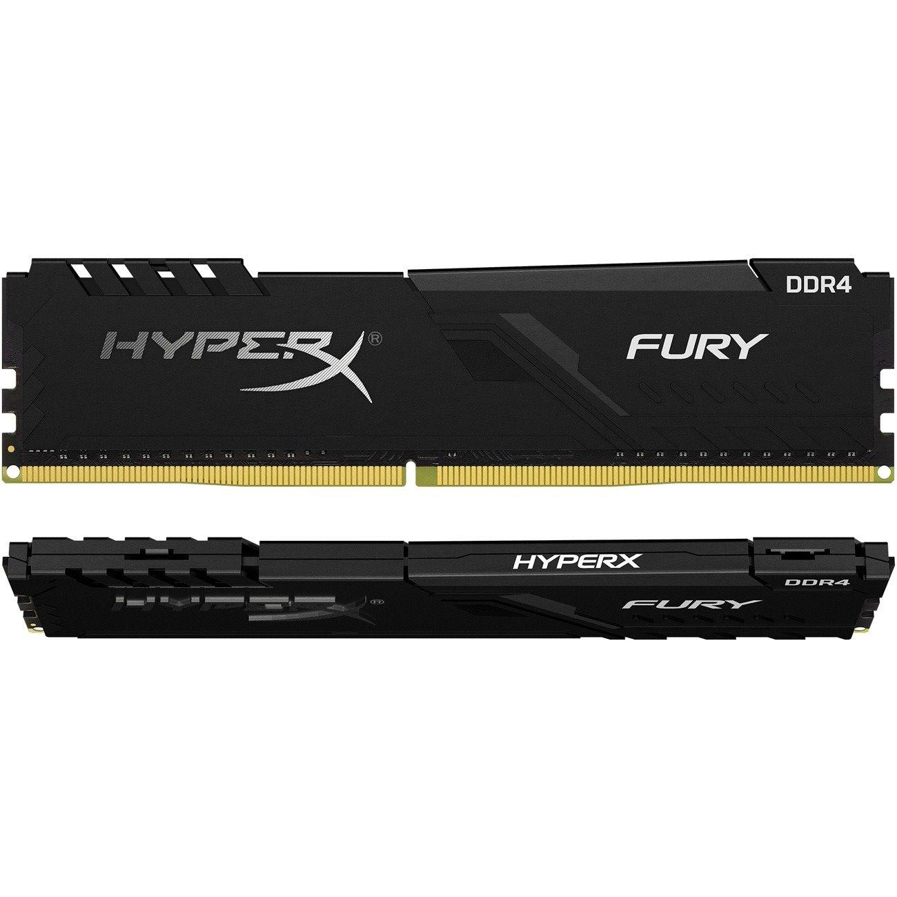 HyperX FURY RAM Module for Desktop PC - 64 GB (2 x 32 GB) - DDR4-2666/PC4-21300 DDR4 SDRAM - CL16 - 1.20 V