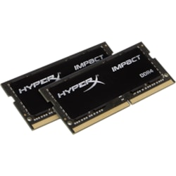 HyperX Impact RAM Module for Desktop PC - 32 GB (2 x 16 GB) - DDR4-2666/PC4-21333 DDR4 SDRAM - CL16 - 1.20 V