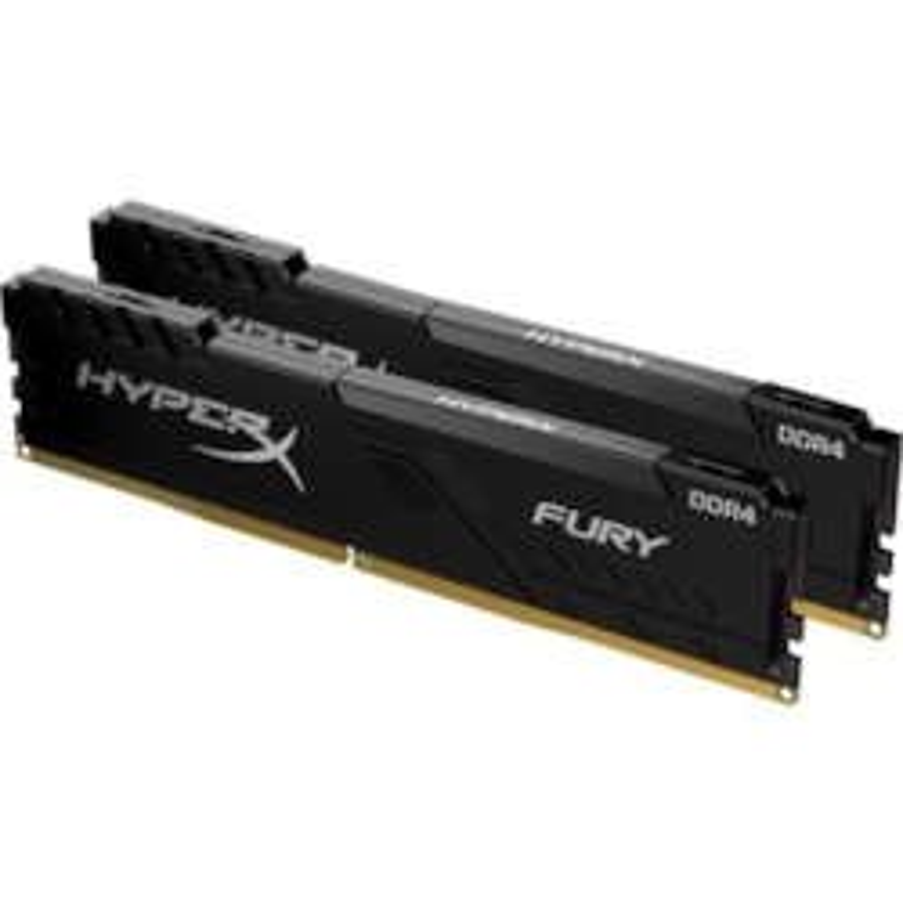 HyperX FURY RAM Module for Desktop PC - 32 GB (2 x 16 GB) - DDR4-3200/PC4-25600 DDR4 SDRAM - CL16 - 1.35 V