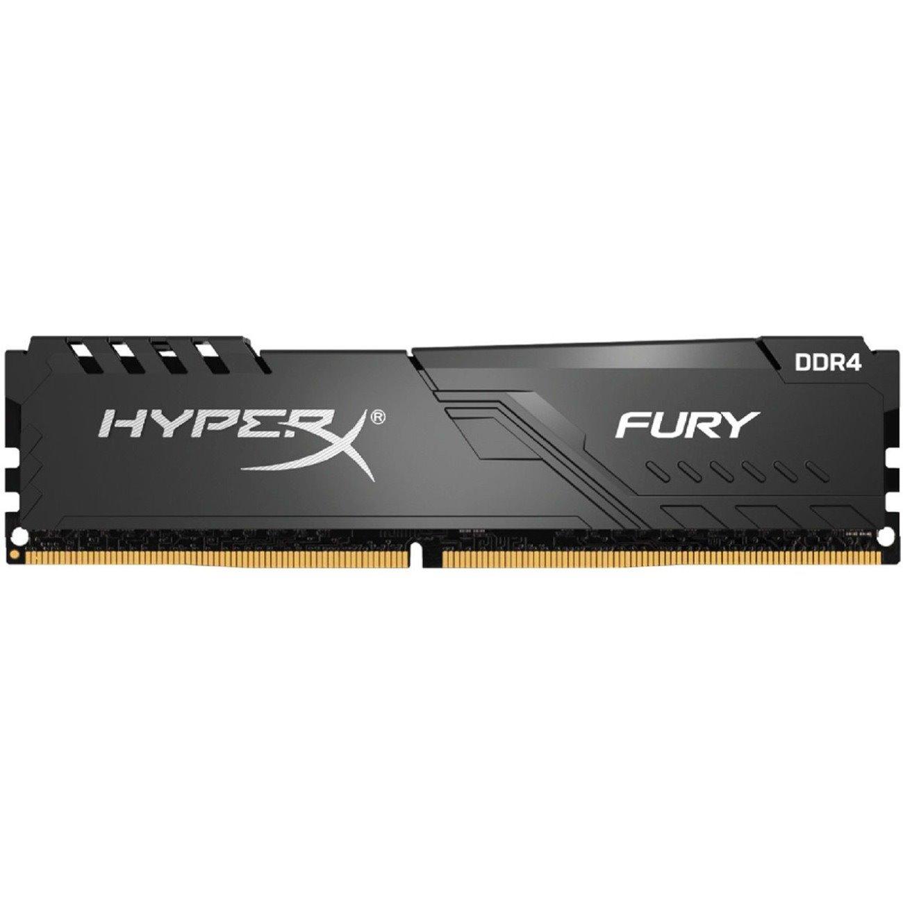 HyperX FURY RAM Module for Desktop PC - 16 GB - DDR4-3600/PC4-28800 DDR4 SDRAM - CL18 - 1.35 V