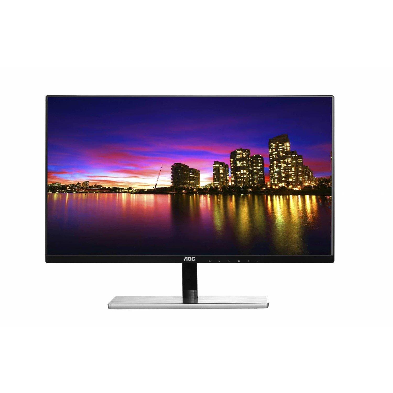 "AOC I2379VHE 58.4 cm (23"") Full HD LED LCD Monitor - 16:9 - Black, Silver"