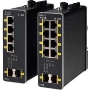 Cisco IE-1000-8P2S-LM 8 Ports Manageable Ethernet Switch - Refurbished