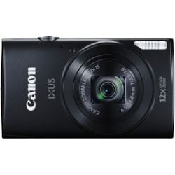Canon Ixus 170 Black, 20.2MP Dig!C 4+, 12X Optical Zoom, HD MR, Intelligent Is