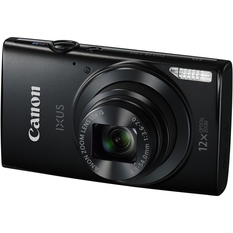 Canon IXUS 170 20 Megapixel Compact Camera - Black