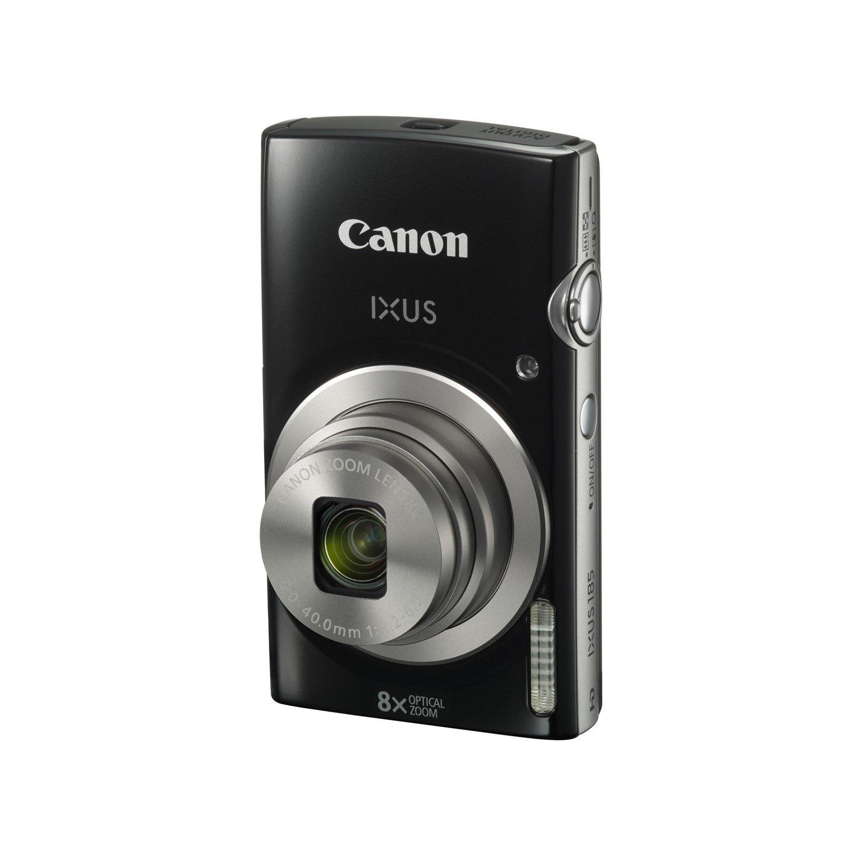 Canon IXUS 185 20 Megapixel Compact Camera - Black