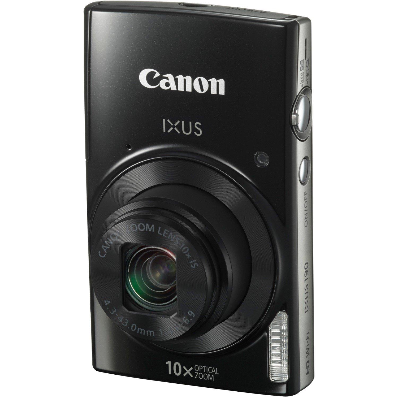 Canon IXUS 190 20 Megapixel Compact Camera - Black