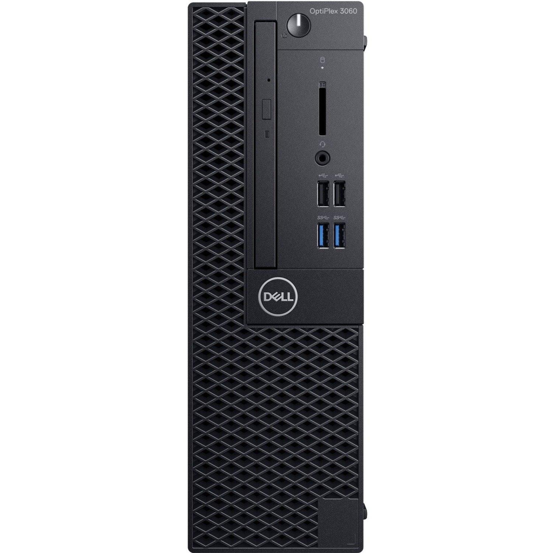 Dell OptiPlex 3000 3060 Desktop Computer - Intel Core i3 (8th Gen) i3-8100 - 8 GB DDR4 SDRAM - 1 TB HDD - Windows 10 Pro 64-bit (English) - Small Form Factor