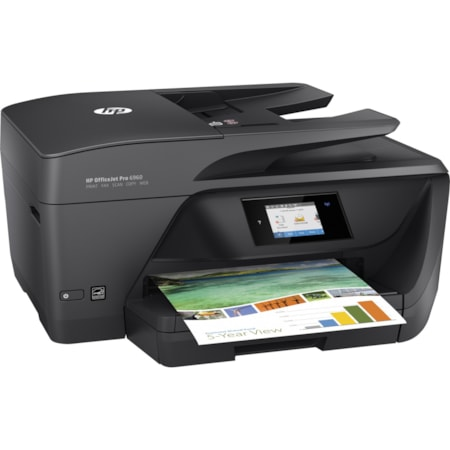HP Officejet Pro 6960 Inkjet Multifunction Printer - Colour - Plain Paper Print - Desktop