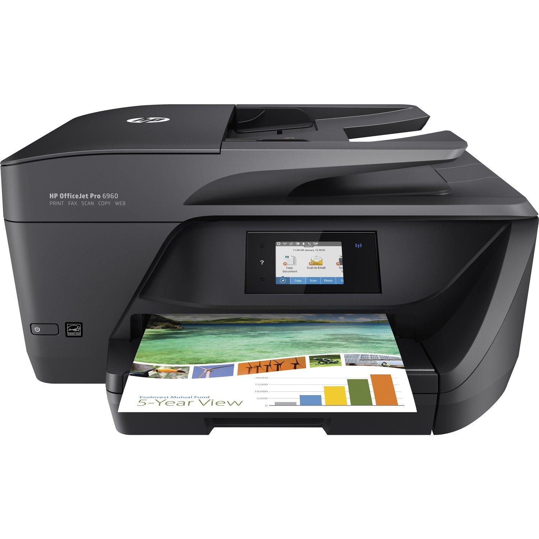 HP Officejet Pro 6960 Inkjet Multifunction Printer - Colour - Plain Paper Print - Desktop