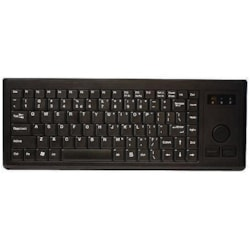 Cherry J84-4300 Membrane Keyboard - Cable Connectivity - Black