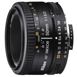Nikon Nikkor JAA013DA - 50 mm - f/1.8 - Fixed Lens