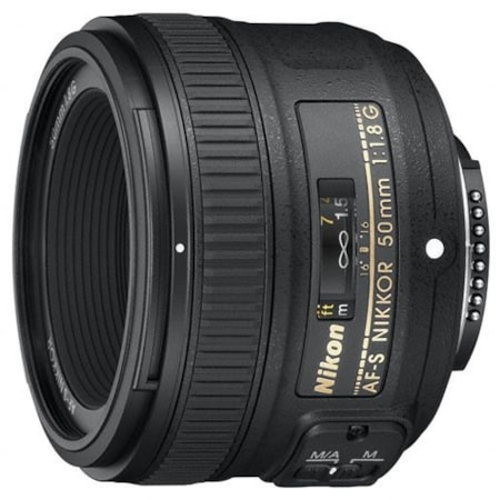 Nikon Nikkor JAA015DA - 50 mm - f/1.8 - Fixed Lens for Nikon F