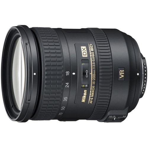 Nikon Nikkor JAA813DA - 18 mm to 200 mm - f/5.6 - Zoom Lens
