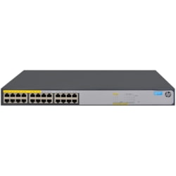 HPE 1420-24G-PoE+ (124W) 24 Ports Ethernet Switch
