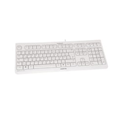 Cherry KC 1000 Keyboard - Cable Connectivity - Light Grey