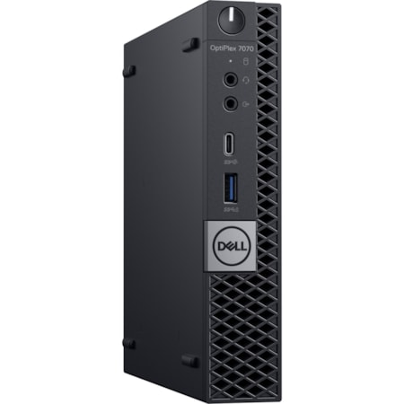 Dell OptiPlex 7000 7070 Desktop Computer - Core i7 i7-9700T - 8 GB RAM - 256 GB SSD - Micro PC