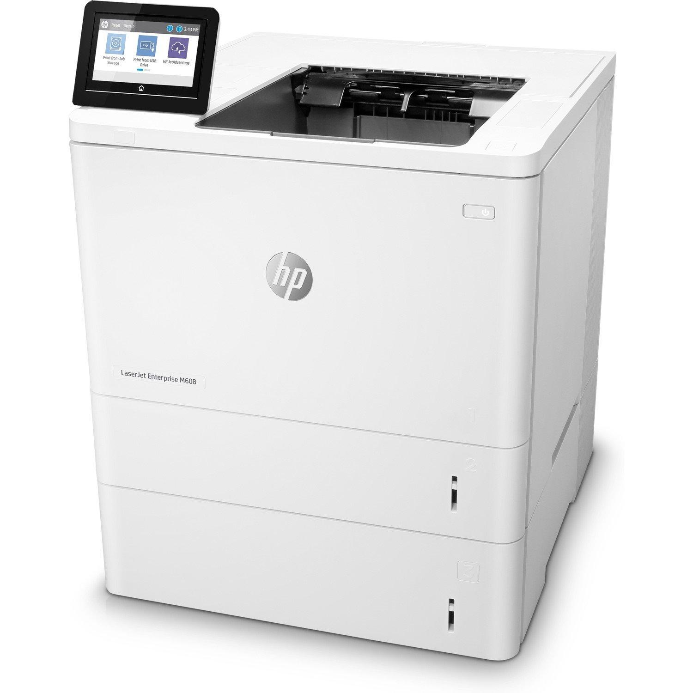 HP LaserJet M608x Laser Printer - Monochrome - 1200 x 1200 dpi Print - Plain Paper Print - Desktop