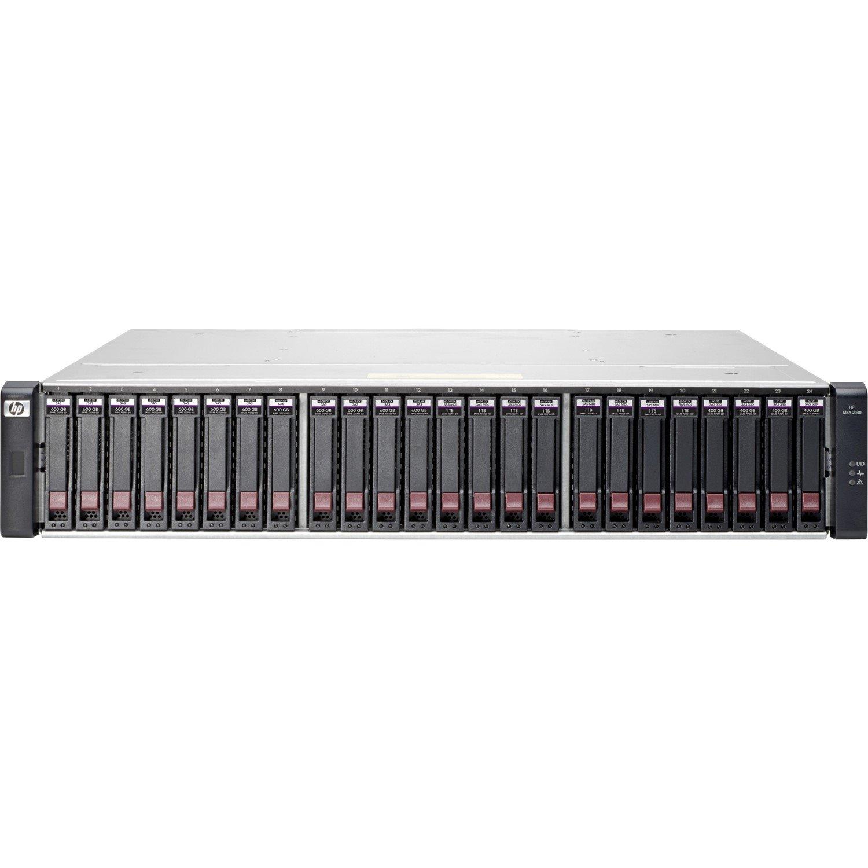 HPE 2040 24 x Total Bays SAN Storage System - 2U - Rack-mountable