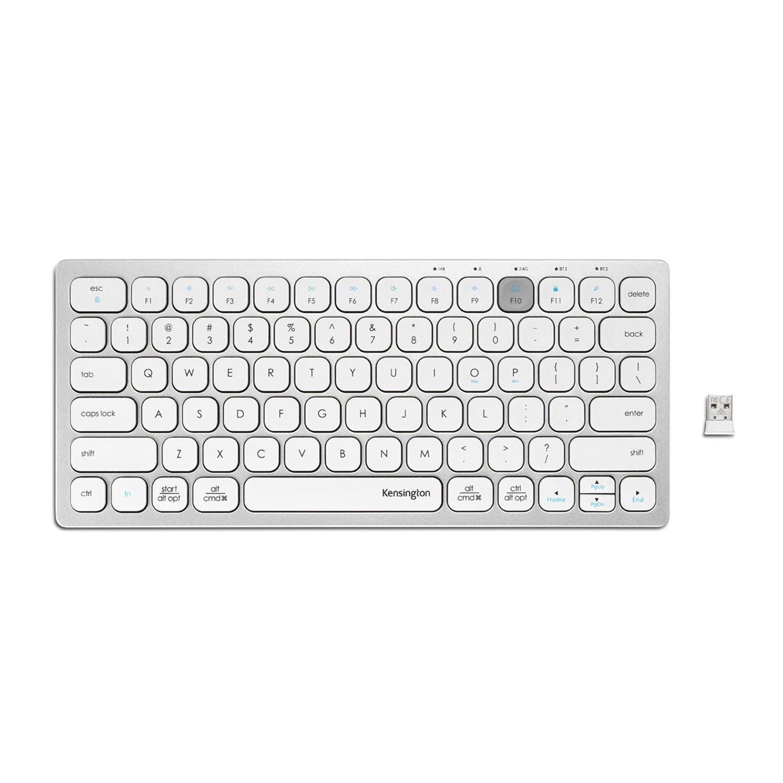 Kensington Keyboard - Wireless Connectivity - Silver