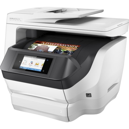 HP Officejet Pro 8745 Inkjet Multifunction Printer - Colour