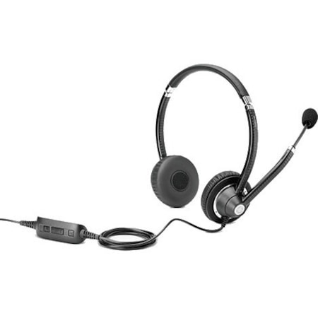 HP Wired Stereo Headset - Over-the-head - Supra-aural