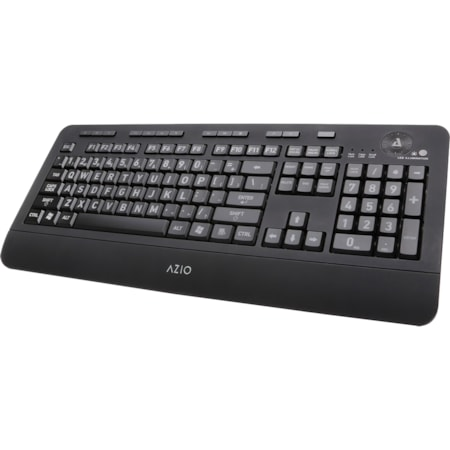 AziO Vision KB506 Membrane Keyboard - Cable Connectivity