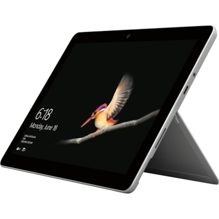 "Microsoft Surface Go Tablet - 25.4 cm (10"") - 8 GB - Intel Pentium Gold 4415Y - 128 GB SSD - Windows 10 Pro - 1800 x 1200 - PixelSense - 4G - Silver"