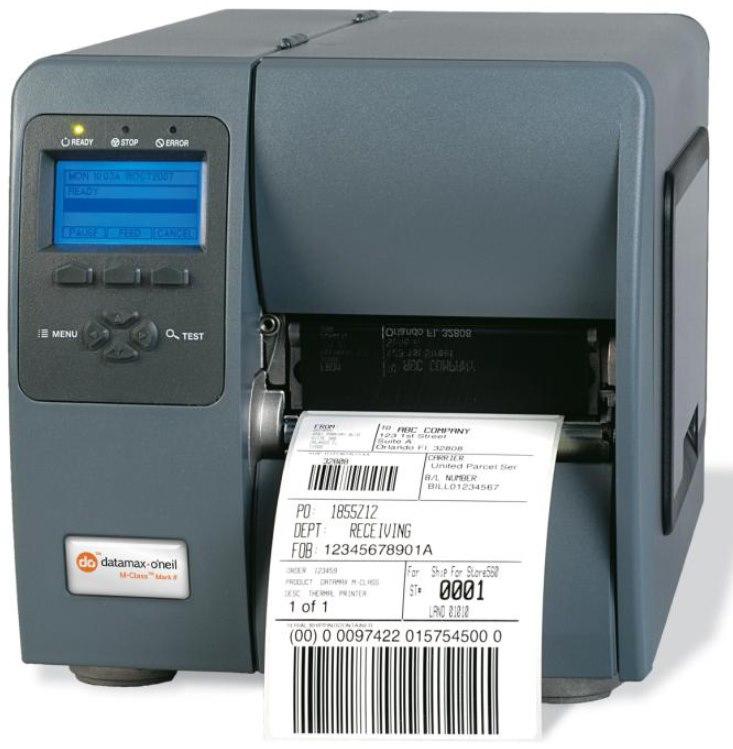 Datamax-O'Neil M-Class M-4206 Direct Thermal/Thermal Transfer Printer - Monochrome - Desktop - Label Print