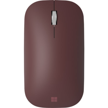 Microsoft Surface Mouse - Bluetooth - BlueTrack - 4 Button(s) - Burgundy
