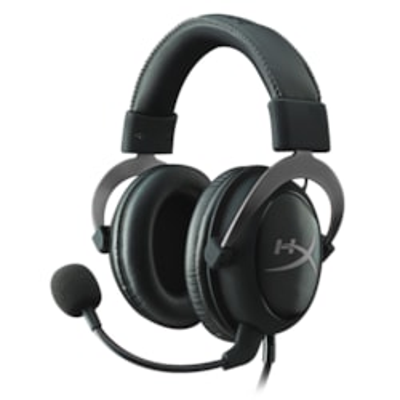 Kingston HyperX Cloud II Wired 53 mm Headset - Over-the-head - Circumaural - Gun Metal