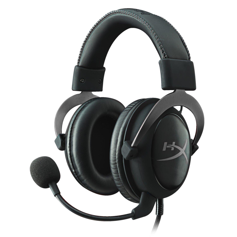 Kingston HyperX Cloud II Wired Over-the-head Gaming Headset - Gun Metal
