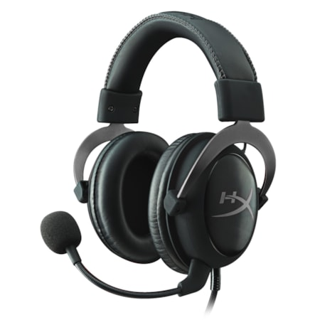 Kingston HyperX Cloud II Wired Over-the-head Headset - Gun Metal