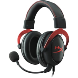 Kingston HyperX Cloud II Wired Over-the-head Gaming Headset - Red