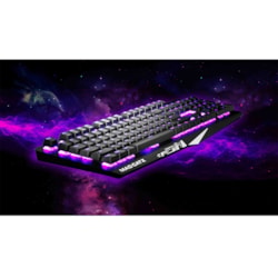 Mad Catz S.T.R.I.K.E. 4 Gaming Keyboard - Cable Connectivity - USB Interface