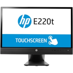 "HP Business E220t 54.6 cm (21.5"") LCD Touchscreen Monitor - 16:9 - 8 ms"