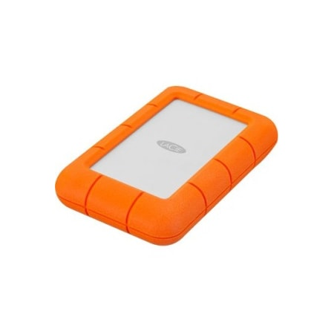 LaCie Rugged Mini LAC9000633 4 TB Portable Hard Drive - External - Orange